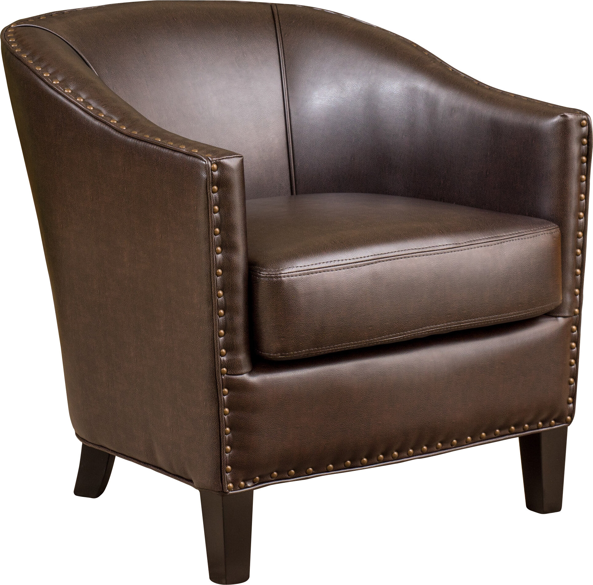 Anton Bonded Armchair. By Noble House