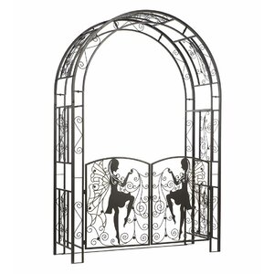 Fairy Metal Arbor with Gate