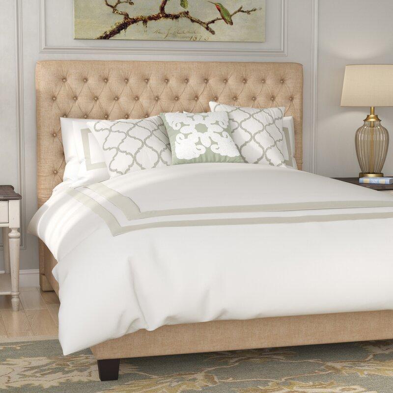cloer upholstered panel bed