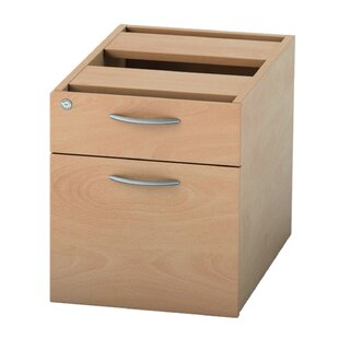 Satellite 2 Drawer Lockable Filing Cabinet