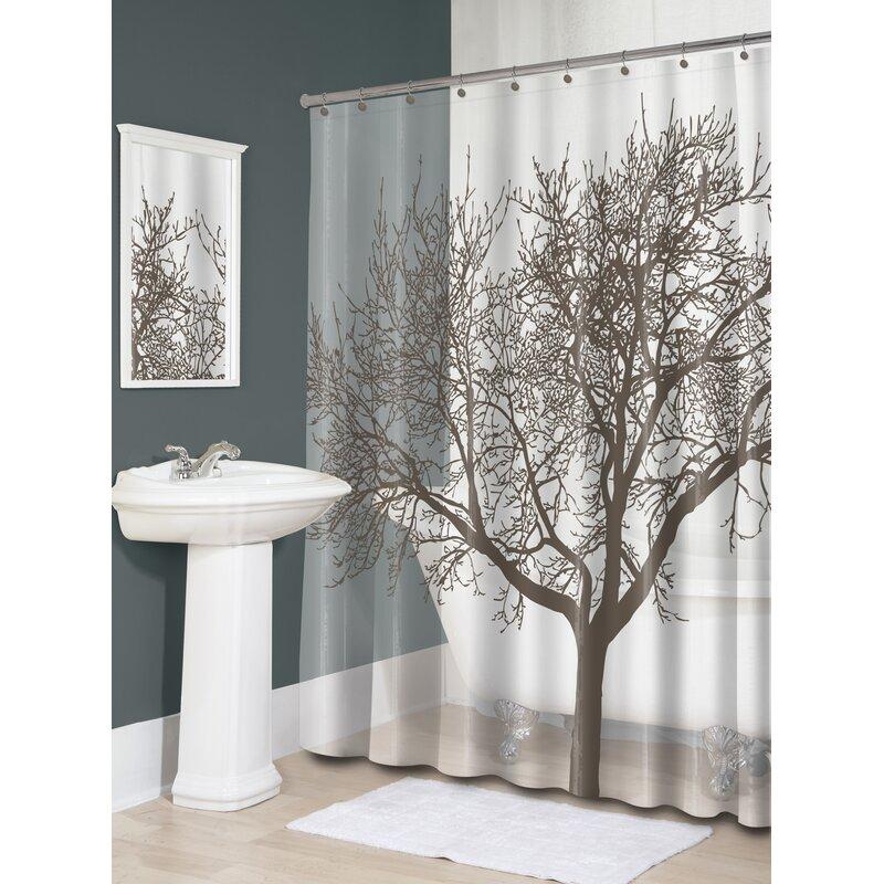 Maspeth EVA 5G Tree Vinyl Shower Curtain Liner