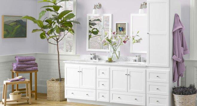 Garden Inspired Bathroom