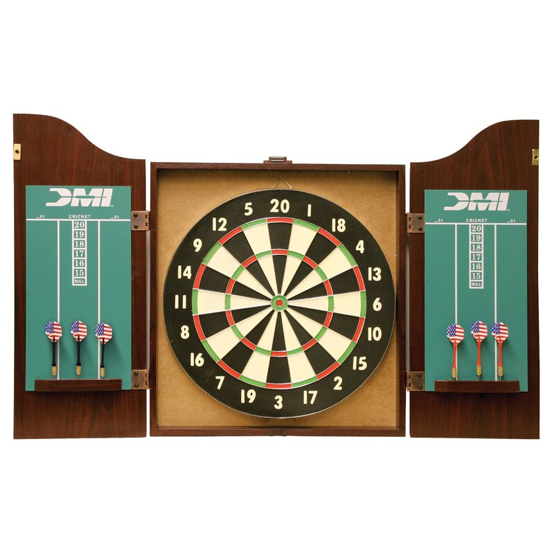 Darting Recreational Dartboard Cabinet