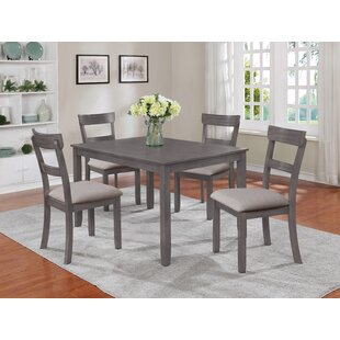 crown mark wayfair rh wayfair com grey kitchen tables and chairs grey kitchen table & chairs