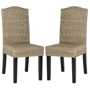 Odette Wicker Dining Chair Set Of 2