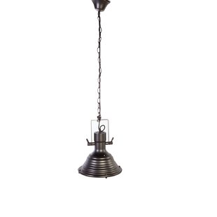 elmira 1 light cone pendant - Nautical Pendant Lights