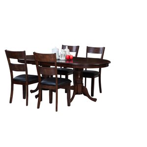 Doretha Traditional 5 Piece Dining Set (Set of 5) by Darby Home Co