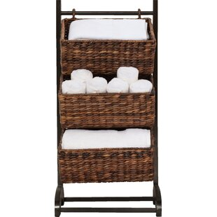 3 Tier Wicker Laundry Sorter