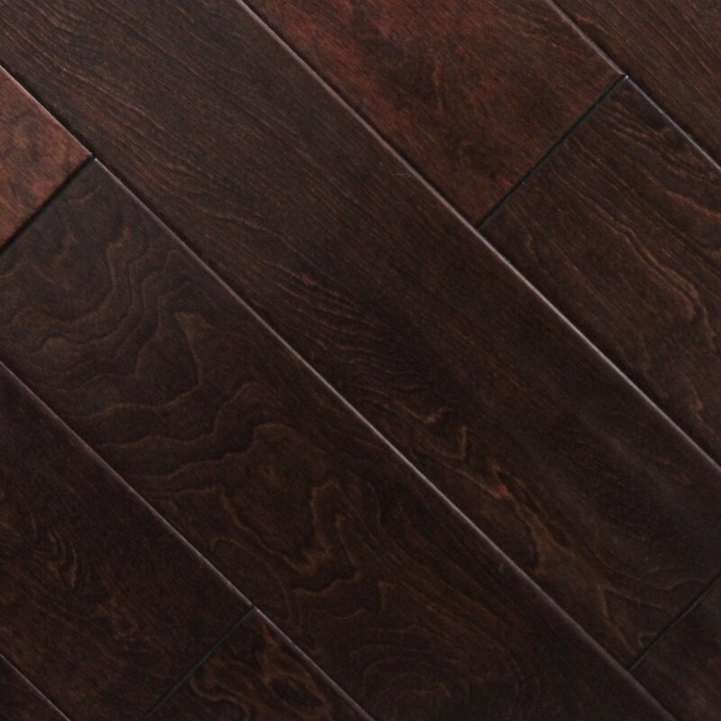 Serradon 5 X 48 X 27mm Birch Laminate Flooring In Cherry