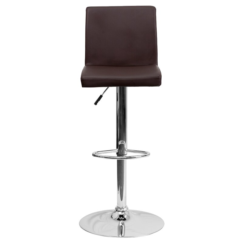 Compton Martin Adjustable Height Swivel Bar Stool  sc 1 st  Wayfair & Wade Logan Compton Martin Adjustable Height Swivel Bar Stool ... islam-shia.org