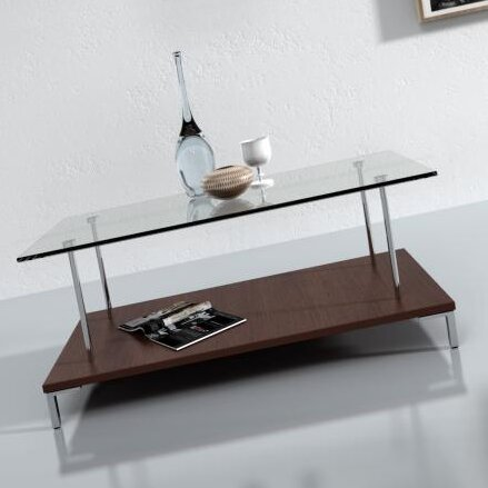Wade Logan McKenney Glass Top Coffee Table Wayfair - Wayfair glass top coffee table