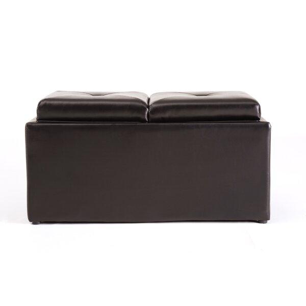 Medium Storage Ottoman - Hodedah Medium Storage Ottoman & Reviews Wayfair