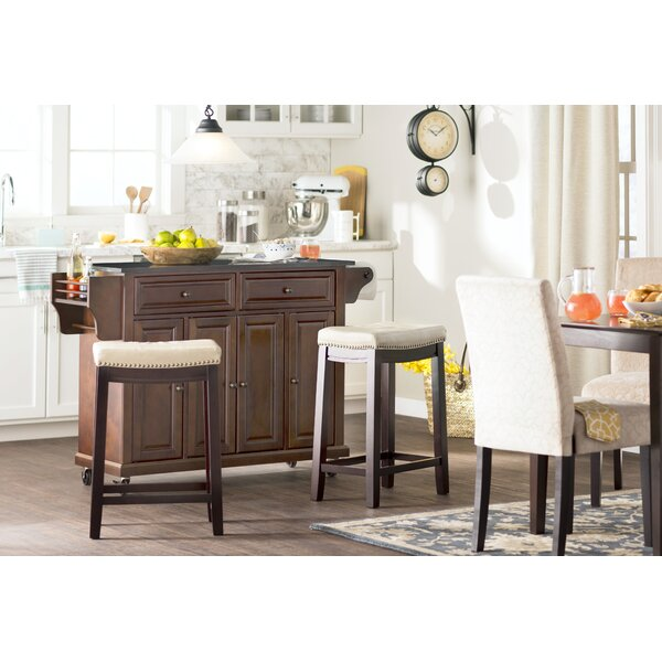 """Three Posts Cayman 26 Counter Stool Reviews: Russett 26"""" Bar Stool With Cushion & Reviews"""