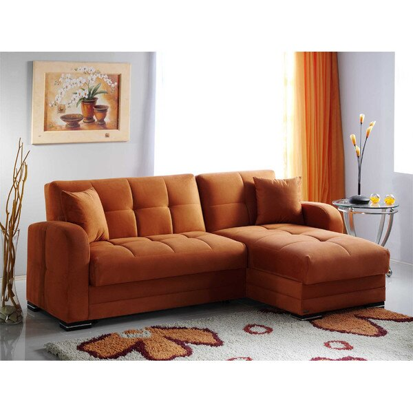 Istikbal Kubo Reversible Chaise Sectional & Reviews | Wayfair