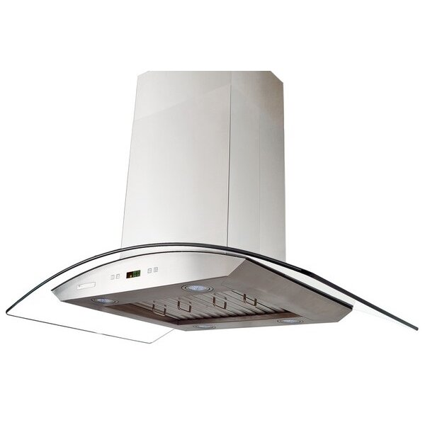 Xtremeair 36 Inch Wall Mount Stainless Steel Range Hood Px03 W36