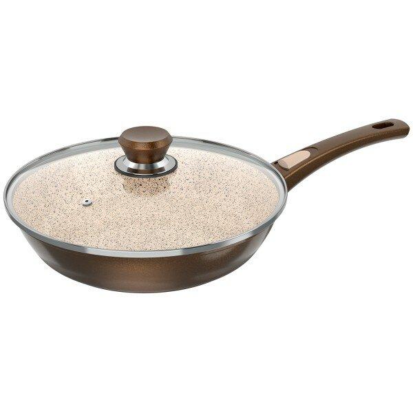 genius 7-piece cerafit granit non-stick induction suitable frying,