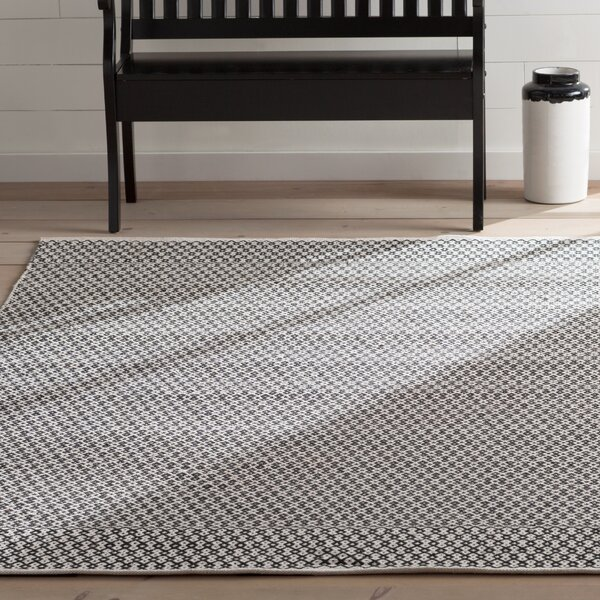 Mooreton Hand Woven Ivory Black Area Rug Amp Reviews Birch