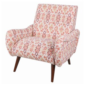 Blondell Tufted Ikat Armchair