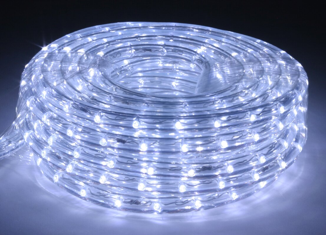 The holiday aisle flexbrite 5 ft led rope light reviews wayfair flexbrite 5 ft led rope light aloadofball Gallery