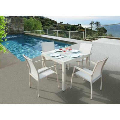 Brayden Studio Daucourt 5 Piece Dining Set