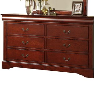 Whispering Pines 6 Drawer Double Dresser by Alcott Hill