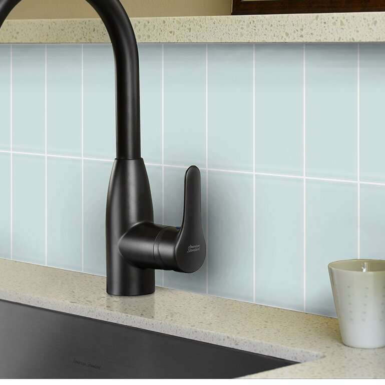 Abolos Metro X Glass Subway Tile In Arctic Reviews Wayfair - Best place to buy subway tile