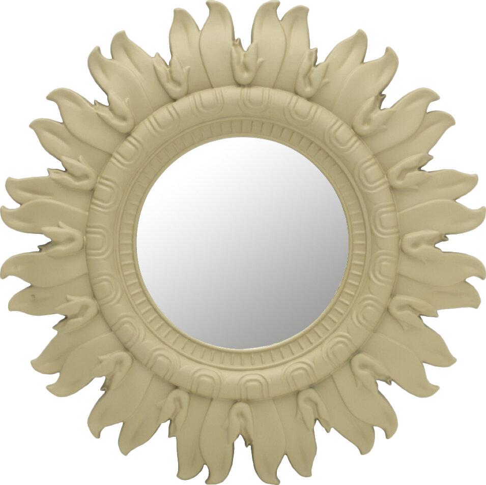 Elements Sunburst Overmantel Mirror & Reviews | Wayfair