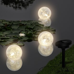 Solar garden lights solar outdoor lights wayfair led fountainpond lighting set workwithnaturefo