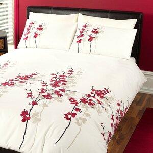 Oriental Flower Duvet Cover Set