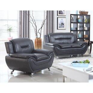 . Leather Living Room Sets Under  500 You ll Love   Wayfair