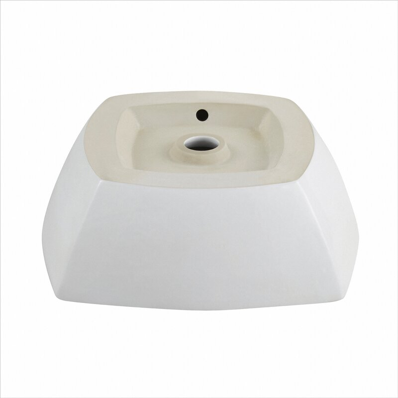 Bathroom Sinks On Sale kraus elavo™ square vessel bathroom sink & reviews | wayfair