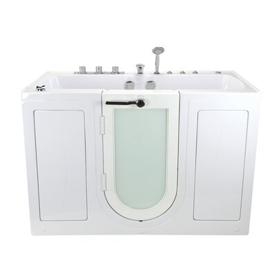 walk in tub for two. Tub4Two Dual Massage 31 75  X 60 Walk In Whirlpool Ella In Bath Two Seat Outward Swing Door Hydro