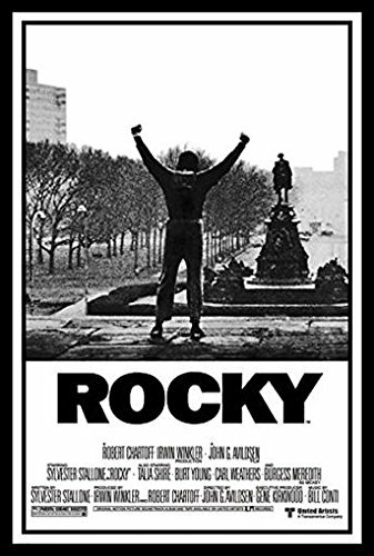 Buy Art For Less Rocky 1 Movie Poster Sylvester Stallone