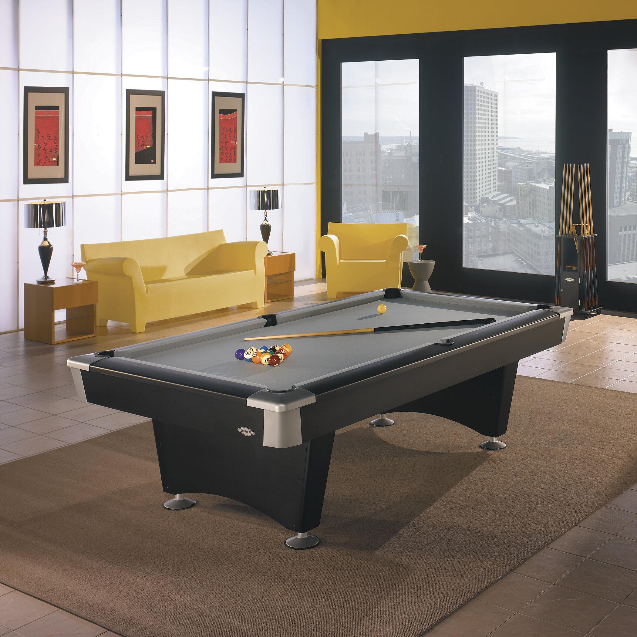Brunswick Billiards Boca Billiards 8\u0027 Pool Table U0026 Reviews | Wayfair. Brunswick  Billiards Boca Billiards 8 Pool Table Reviews Wayfair