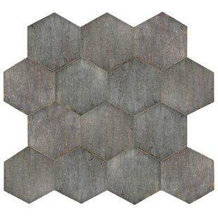 Rama Hexagon 14 13 X 16 25 Porcelain Field Tile In Gray