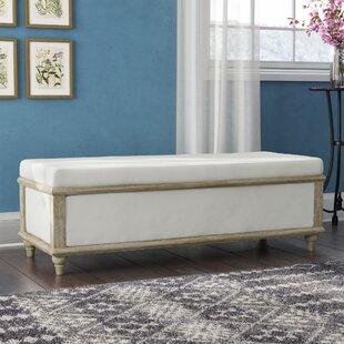 Charmant Serene Upholstered Storage Bench