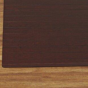 wood chair mat for carpet wayfair