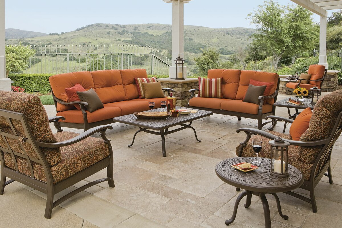 Ravello Deep Seating Group With Sunbrella Cushion