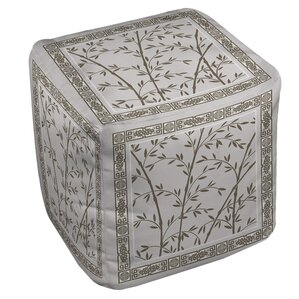 Oriental Treasure Ottoman by Manual Woodwork..