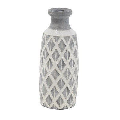 Kingston Traditional Cylindrical Crisscross Table Vase Reviews