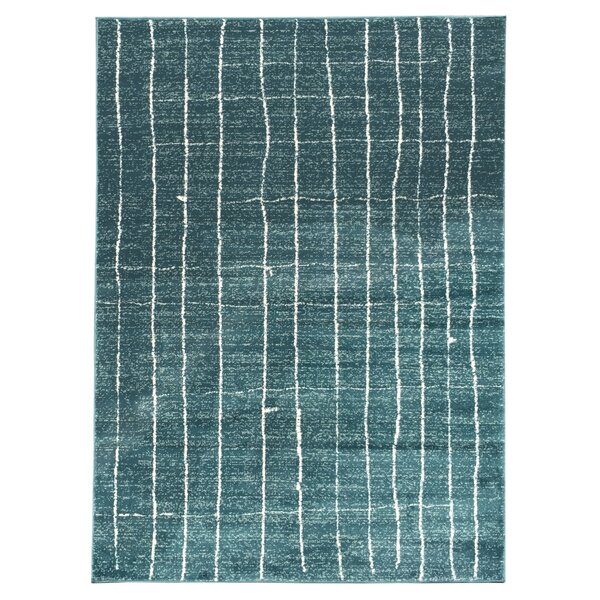 Rugnur Zahra Teal Indoor/Outdoor Area Rug & Reviews