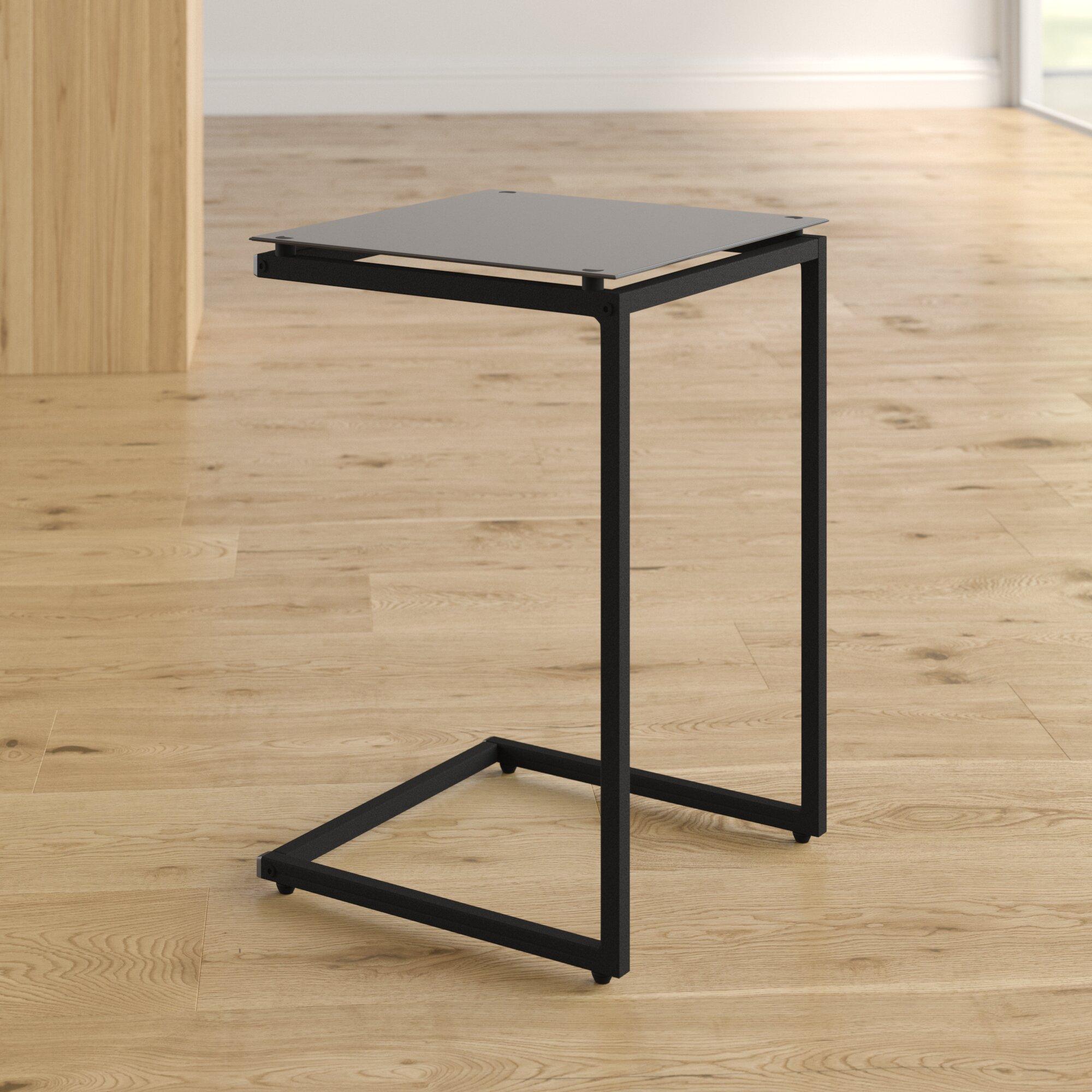 Bonetti C Shaped End Table