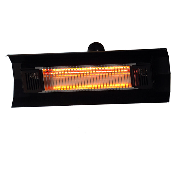 Fire Sense Wall Mounted 1500 Watt Electric Mounted Patio Heater U0026 Reviews |  Wayfair