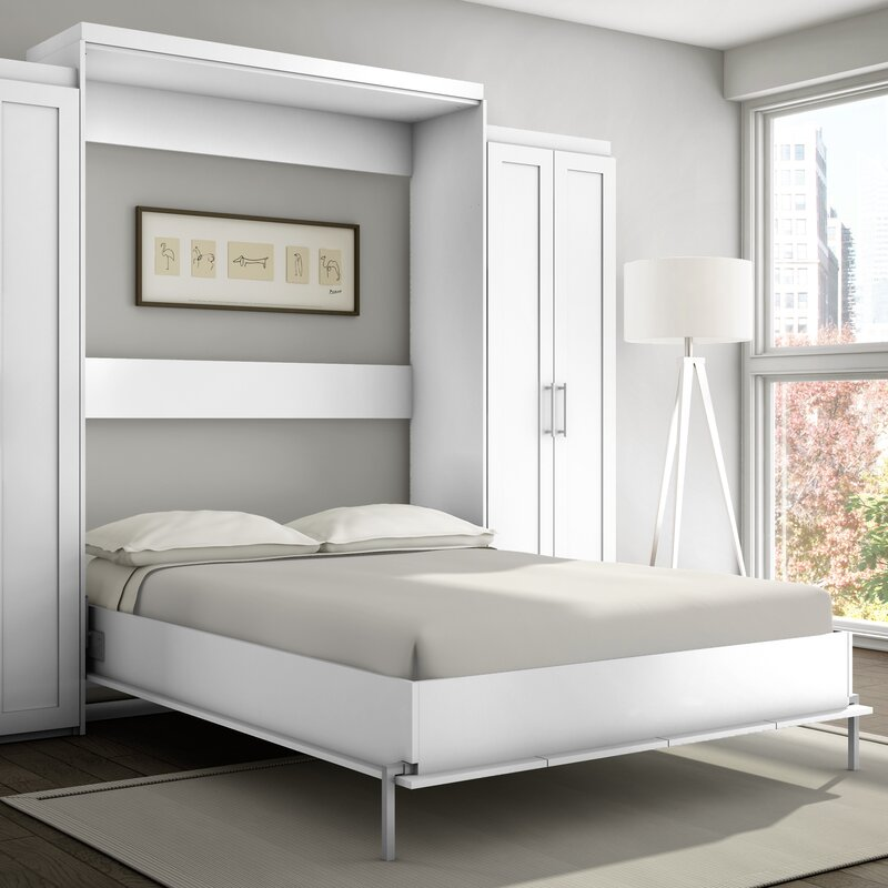 Stellar Home Shaker Murphy Bed Reviews Wayfair