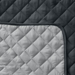 Reversible Quilted Box Cushion Recliner Slip..
