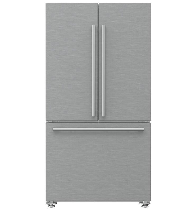 Blomberg 19.86 cu. ft. Energy Star Counter Depth French Door Refrigerator