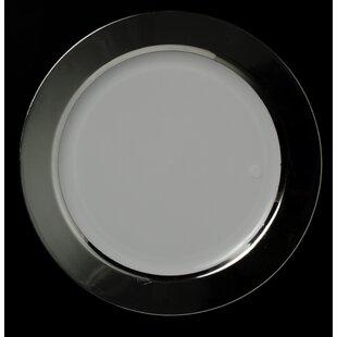 Opulent 7.5\  Super Elegant Plastic Salad Plate Set (Set of 50) & Elegant Plastic Plates | Wayfair