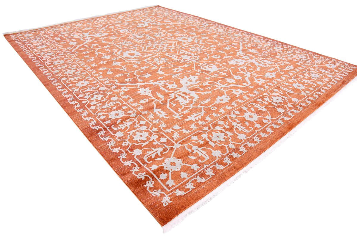 Sherrill Terracotta Area Rug