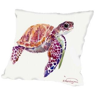 New Sea Turtle Pillow | Wayfair GA31