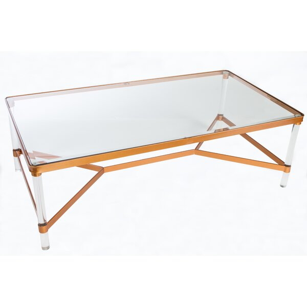 Captivating Statements By J Mireille Acrylic Coffee Table U0026 Reviews | Wayfair